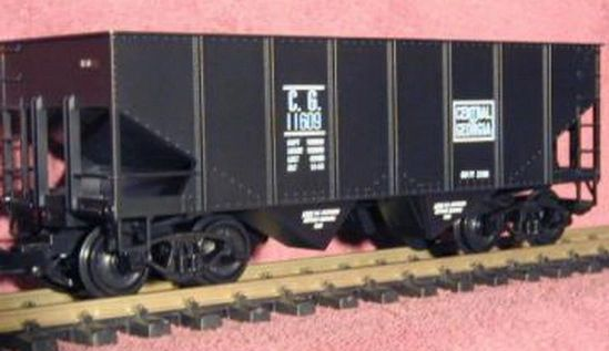 CENTRAL OF GEORGIA RIB SIDE 2 BAY HOPPER G-CAL DECAL SET