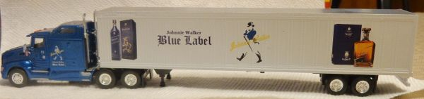 JOHNNIE WALKER BLUE LABEL TRACTOR TRAILER HO SCALE DECAL SET