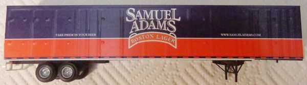 SAMUEL ADAMS BOSTON LAGER TRAILER HO SCALE DECAL SET