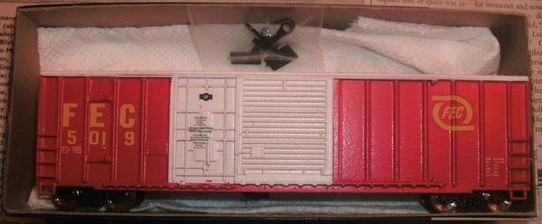 FEC 50 FT COMBO DOOR BOXCAR HO DECAL SET