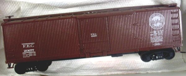 FEC 40 FT WOOD BOXCAR HO DECAL SET