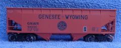 GNWR 2 BAY OFFSET HOPPER ACCURAIL MODEL INCLUDES ATLAS STEEL WHEELS