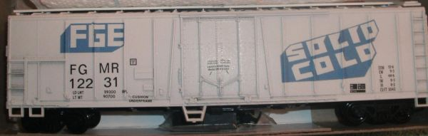 FGE MECHANICAL REEFER CAR- SOLID COLD