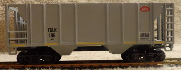 FINGER LAKES RAILWAY BALLAST CAR. PROTOTYPICAL. HO DECAL SET
