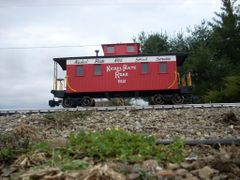NICKEL PLATE HIGH SPEED SERVICE. G-CAL DECAL CABOOSE DECAL SET