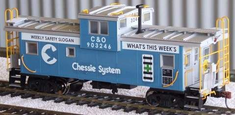 CHESSIE SAFETY CABOOSE, WEEKLY SAFETY SLOGAN WHAT'S THIS WEEKS