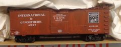 INTERNATIONAL AND GREAT NORTHERN WOOD 36 FT HO DECAL SET.