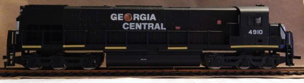 GEORGIA CENTRAL U BOAT DIESEL LOCO HO DECAL SET.
