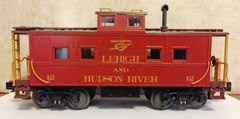 LEHIGH AND HUDSON RIVER R.R. NORTH EAST CABOOSE O SCALE DECAL SET.