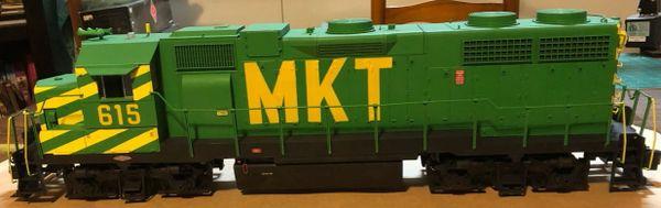 M-K-T MISSOURI- KANSAS-TEXAS GP SD LOCOMOTIVE DECAL SET