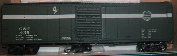 GEORGIA & FLORIDA R.R. 50 FT SD BOXCAR HO SCALE DECAL SET.