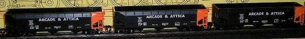 Arcade & Attica RR What If Hopper HO decal set