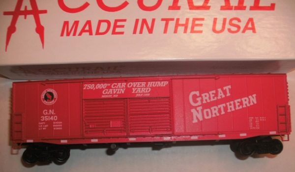 GREAT NORTHERN 750,000 HUMP CAR HO DECAL SET