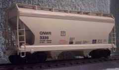 GENESEE & WYOMING HOPPER NEW GRAPHICS HO DECAL SET