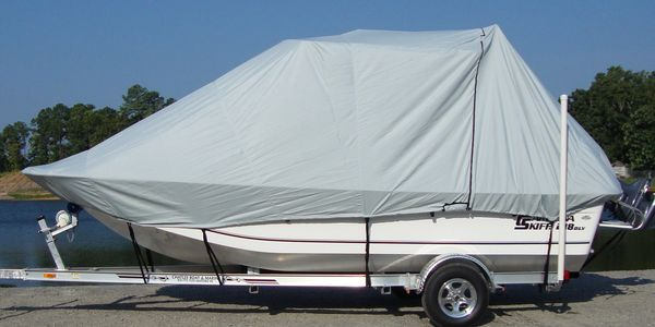 boat cover storage