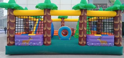 JUNGLE BOUNCY RENTAL FOR EVENTS GAMES & BIRTHDAY GAMES IN DELHI, GURGAON, NOIDA & FARIDABAD