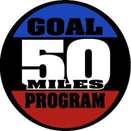50 Mile Goal Medal
