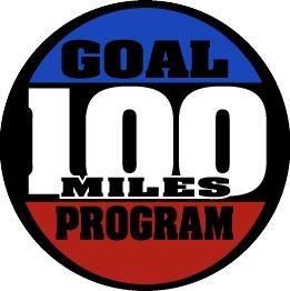 100 Mile Goal Medal