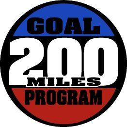 200 Mile Goal Medal