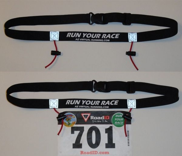 Race Bib Belt