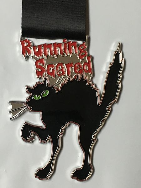 Running Scared Medal