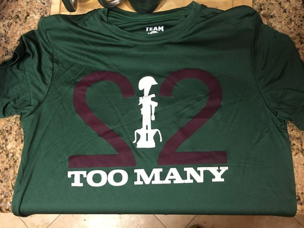22 Too Many T-Shirt 2019
