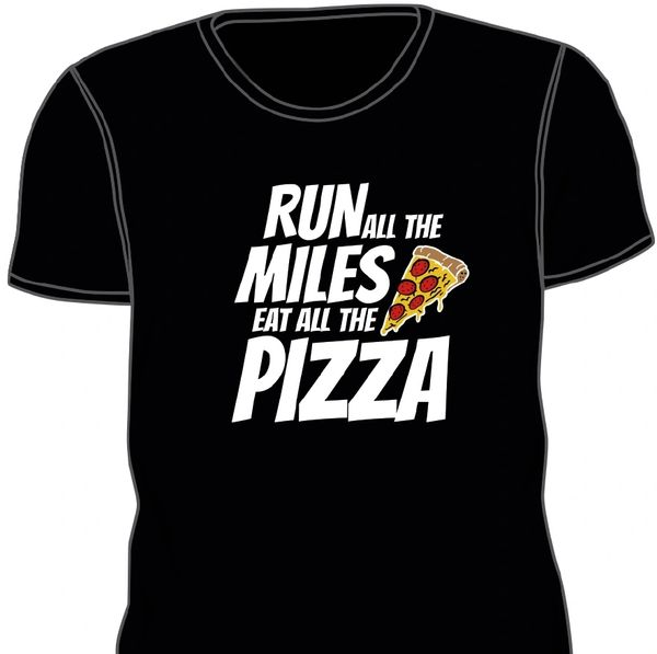 Pizza Run Tech Shirt