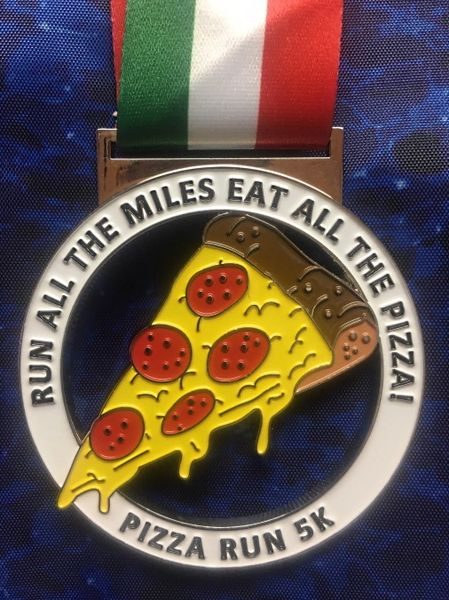 Pizza Run Medal 2020