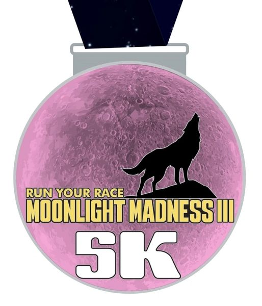 Moonlight Madness III Medal - 2019