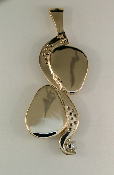Double Ivory Pendant Elk Ivory Jewelry
