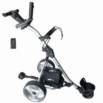 Electric Golf Caddy >> Easy Trek Remote Controlled Electric Golf Caddy Silver