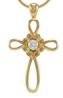 Infinity Cross Bronze