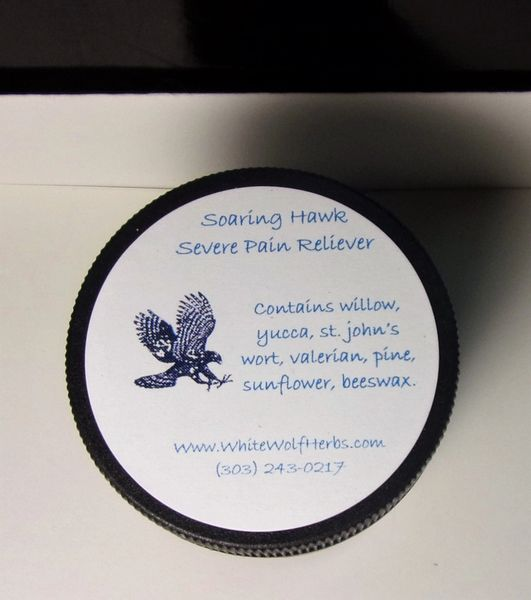 Soaring Hawk Severe Pain Salve