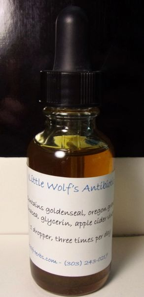 Little Wolf Antibiotic