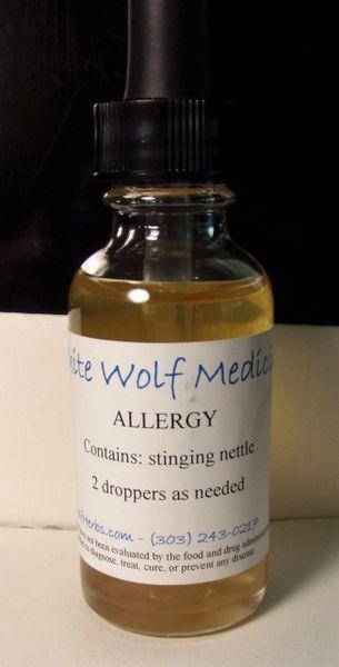 Allergy Tincture (4 oz. Bottle)