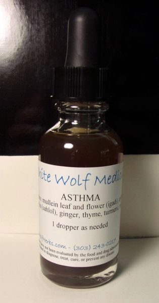 Asthma (4 oz. Bottle)