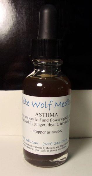 Asthma (4 oz. Bottle)