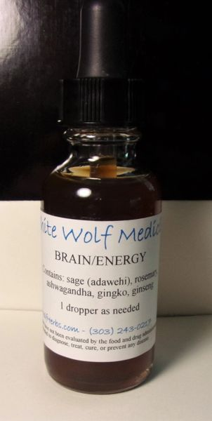 Brain/Energy (4 oz. Bottle)