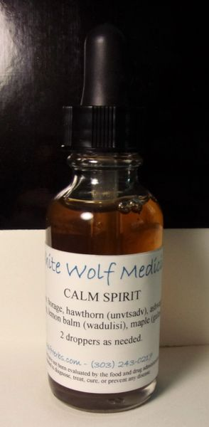 Calm Spirit (4 oz. Bottle)