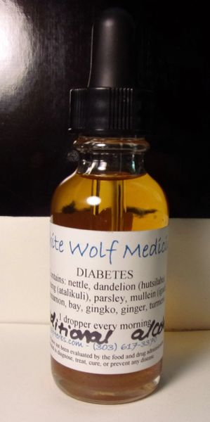 Diabetes (4 oz. Bottle)