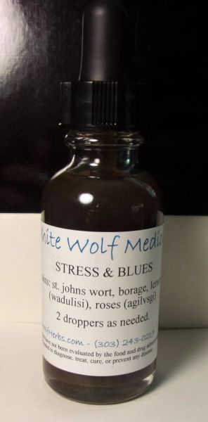 Stress and Blues (4 oz. Bottle)