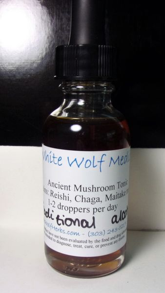 Ancient Mushroom Tonic (4 oz. Bottle)
