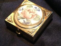 Antique Vintage Pill Box