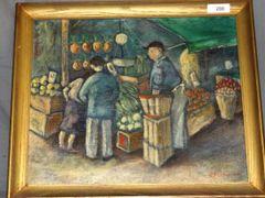 Per Fischer (1877 - 1974) Original on Canvas