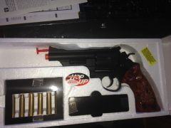 SOLD - New TSD UG131 FPS-250 Green Gas Airsoft Revolver