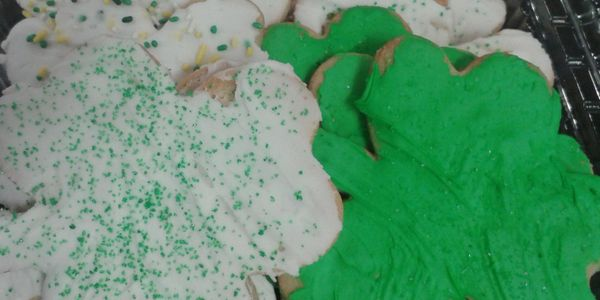 Shamrock cookies coming February 17th.
