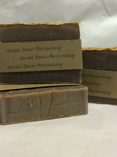 Handmade Soap - Vanilla Bean, Moisturizing