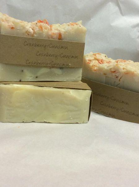 Handmade Soap - Cranberry Cinnamon
