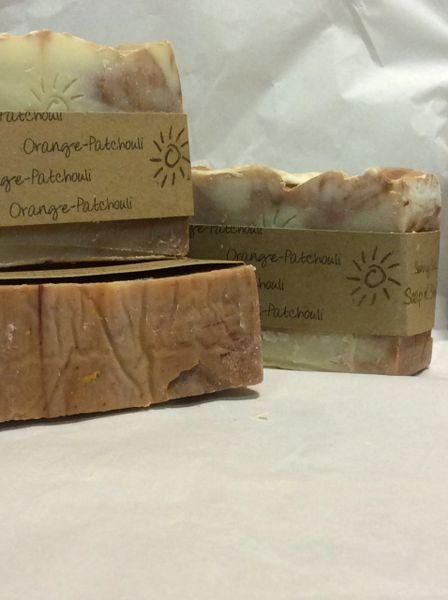 Handmade Soap - Orange Patchouli