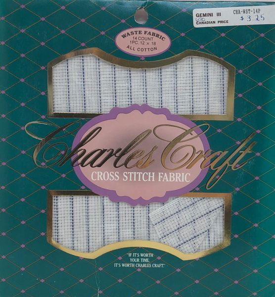 Charles Craft - 14ct Waste Fabric